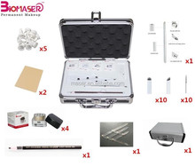 Newest microblading kit with Ratio divider, beginner micro blade Ratio divider tools kit, microblading pigment
