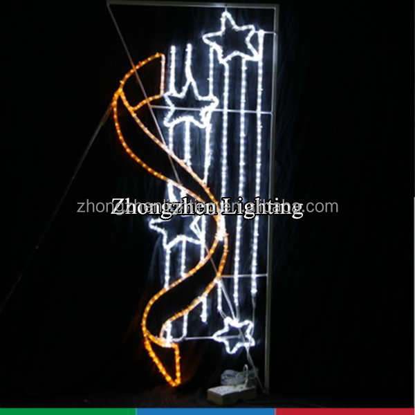 commercial grade made in china Street pole mounted decoration for holiday