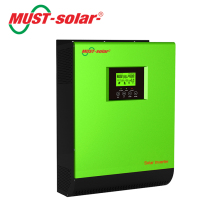 High frequency pure sine wave 24v 3kva 2400w PWM solar power charger inverter