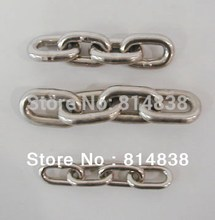 Pet Chain 4mm Stainless steel chain / Rantai 1 meter
