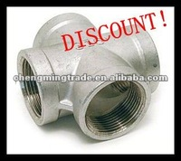 Forged Pipe Fitting Threaded/NPT Cross Stainless Steel/Carbon Steel