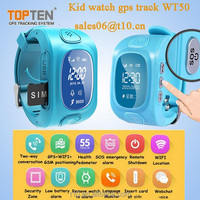 Wrist Watch Kids GPS Tracker with Two way communication, Remote Satellite Monitor ,SOS