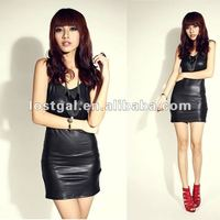 2012 summer wear women's best-selling new Europe and America B215 nightclub deep V sexy hot dress