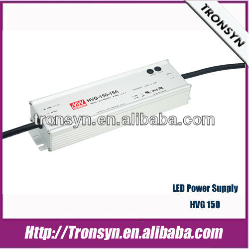 MeanWell Power Supply HVGC-150-350 (150W 350mA) Built-in PFC Function and Dimming LED Switching Power Supply and LED Driver