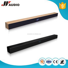 Wood Home use soundbar High Quality Soundbar Subwoofer Bluetooth TV Speaker/ AUX in/ USB/ Optical/ Coaxial JYaudio A1