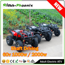 CE Approved 60v 1000w 2000w adult electric quad bike for sale ( PH-E7004 )