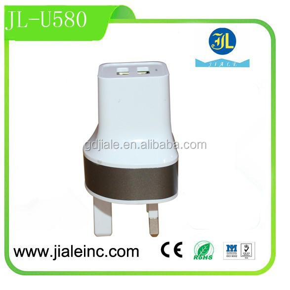 New gadgets for mobile phone Dual USB Wall Charger wholesale Wireless multiport USB Home Charger hot in Alibaba