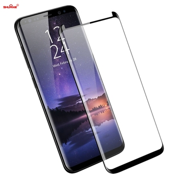 Hot Products !! 0.26mm 9H Colorful 3D Curved Tempered Glass screen protector for Galaxy S9