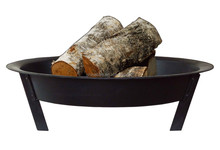 Outdoor Black painting Mini Tropid Fire Pit