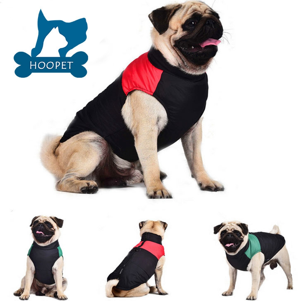 Fashionable Winter Dog Vest Warm Pet Clothing For Winter
