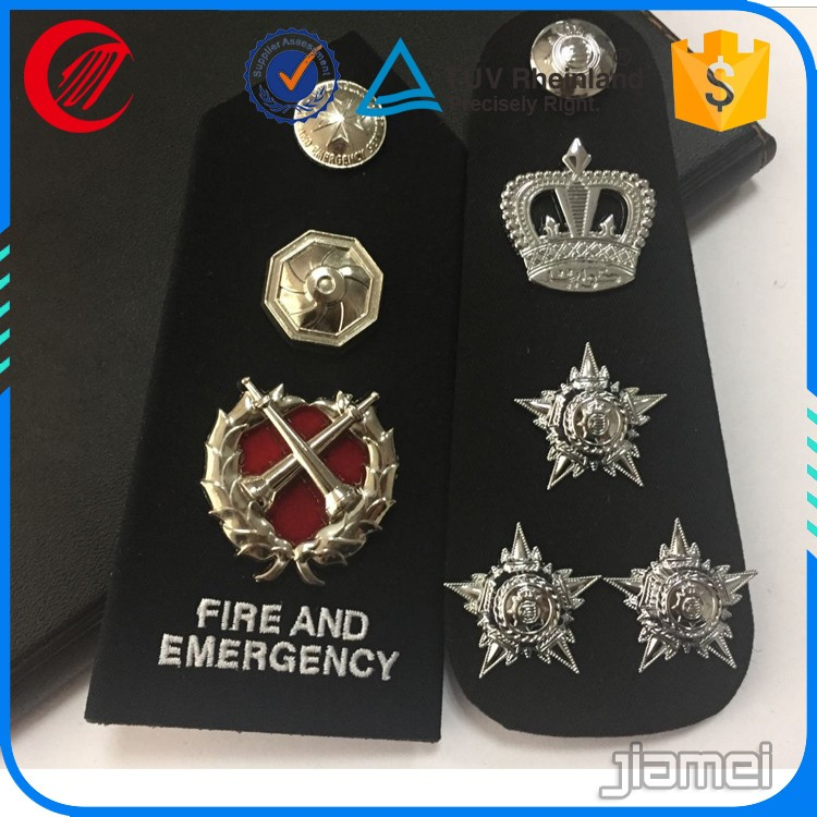 China metal military epaulette for sale