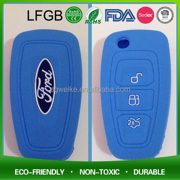 Holder cases For Car Remote,Silicone Car Key Remote Covers With Custom Design