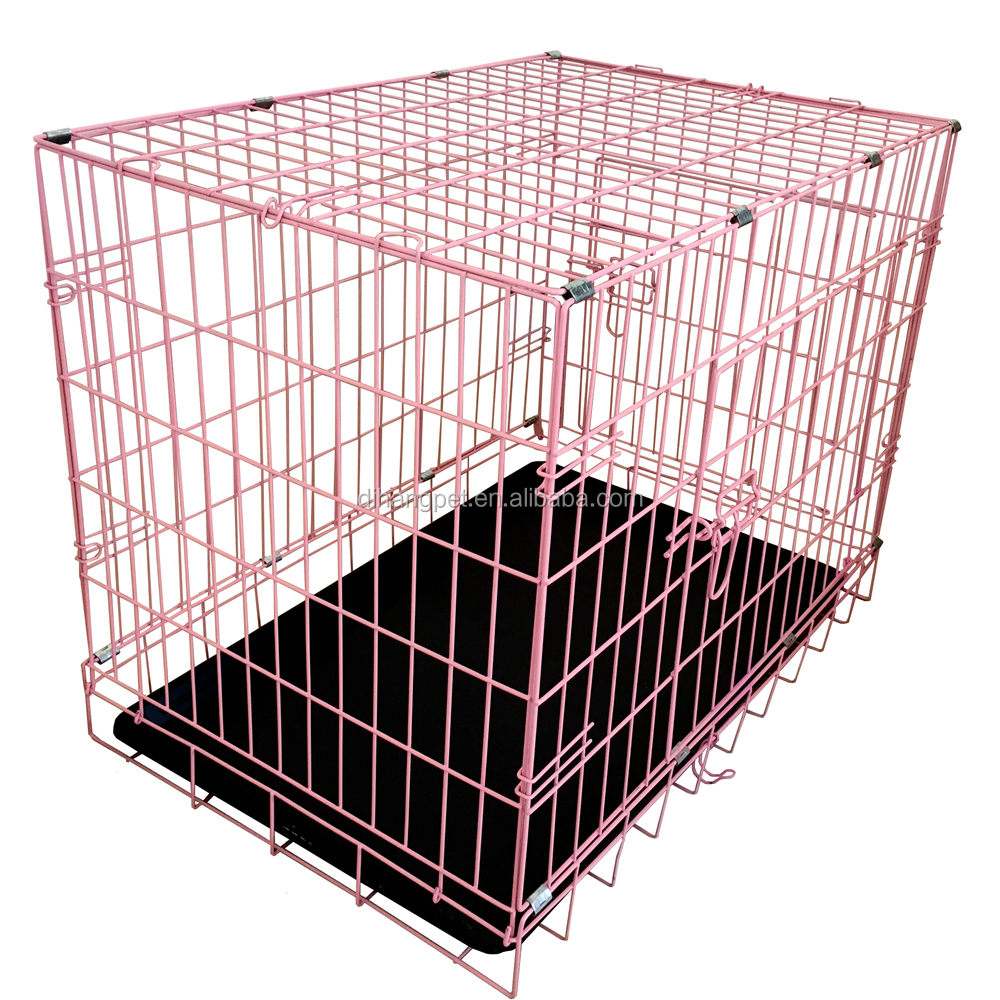 Stocked large steel cheap dog cage,modular dog cage