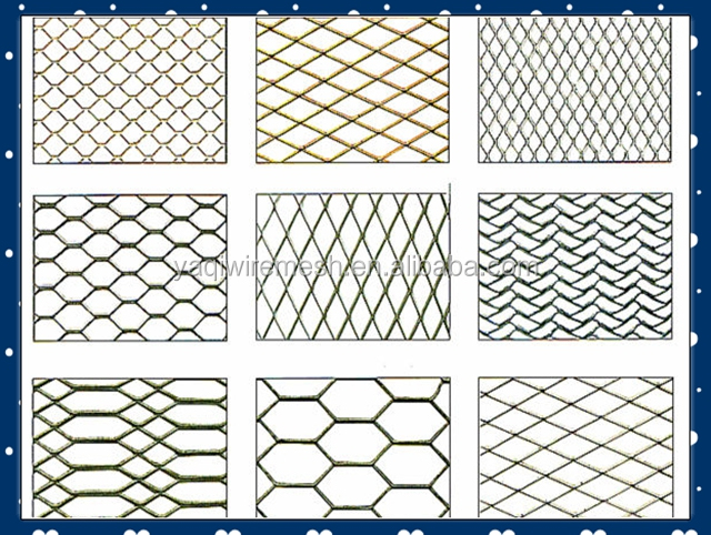 2015 new price for Tianium Expanded Wire Mesh China Manufacture factory supply