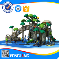 2015 Best Selling and High Quality Plastic Outdoor garden play areas