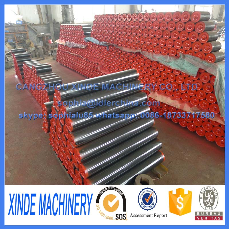 return idler roller/conveyor idler production