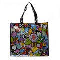 Europe standard custom PMS color printed shiny laminated non woven bag