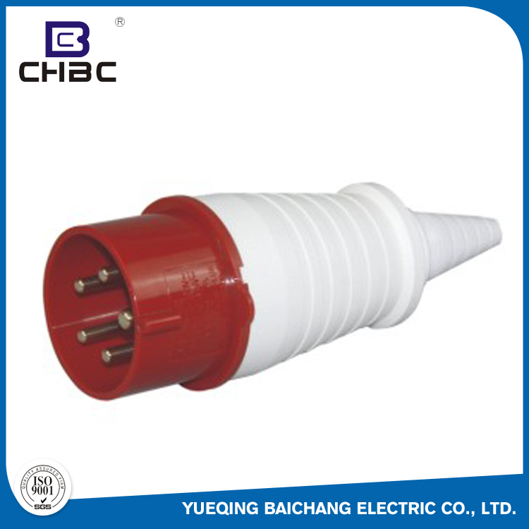 CHBC 16A 32A IP44 Waterproof Power Electrical Industrial Plugs Sockets
