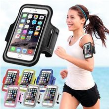 Wholesale 4.0-5.5 inch Armband Cases for 8 7 6s 5s 5c Phone Case