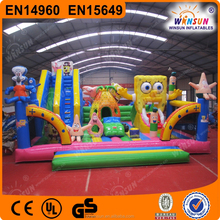 hot sale inflatable amusement park,inflatable indoor playground,inflatable fun city