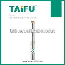 Deep well submersible pump for drinking water