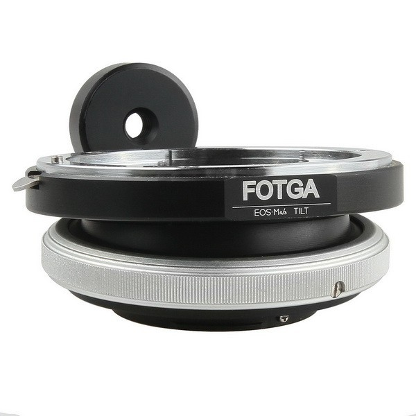 FOTGA metal Tilt Adapter for Canon EOS Lens to Micro 4/3 M4/3 EOS-M4/3 Mount Ring