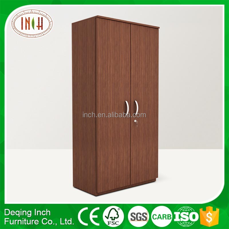 Modern furniture wooden sliding door wardrobe small design