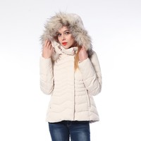 Mid-Weight Fashion Women'S Sleeveless Winter Jacket