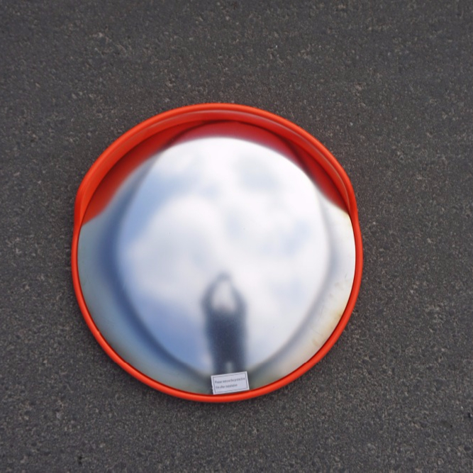"Eco-friendly Cheap 24"" Reflective Traffic Safety Convex Mirror"