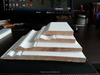 White Primed MDF Baseboard Solid Wood Skirting Board Customized Base Board
