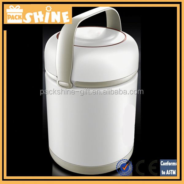 Stainless Steel Thermal Lunch Container, 1000ml, Food Grade, High Quality