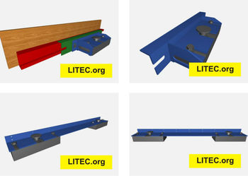 Magnetic formwork system from LITEC.org