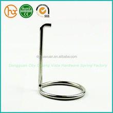 Top quality Slim aluminum extrusion profiles with spring clips
