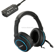 New multi-functions tablet stereo gaming headphone overhead detachable controller gaming headset for PS3 PS4 Xbox one
