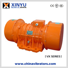 Electric vibration motor, vibrating source