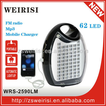 Rechargeable LED Multifunction Portable Light (WRS-2590LM)
