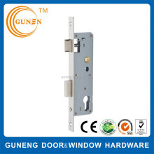 Aluminium double door mortise lock body for sliding door, mortise sliding door lock euro