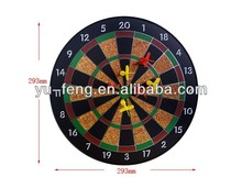 Superb quality favorable promotional customized Logo custom magnetic dartboard
