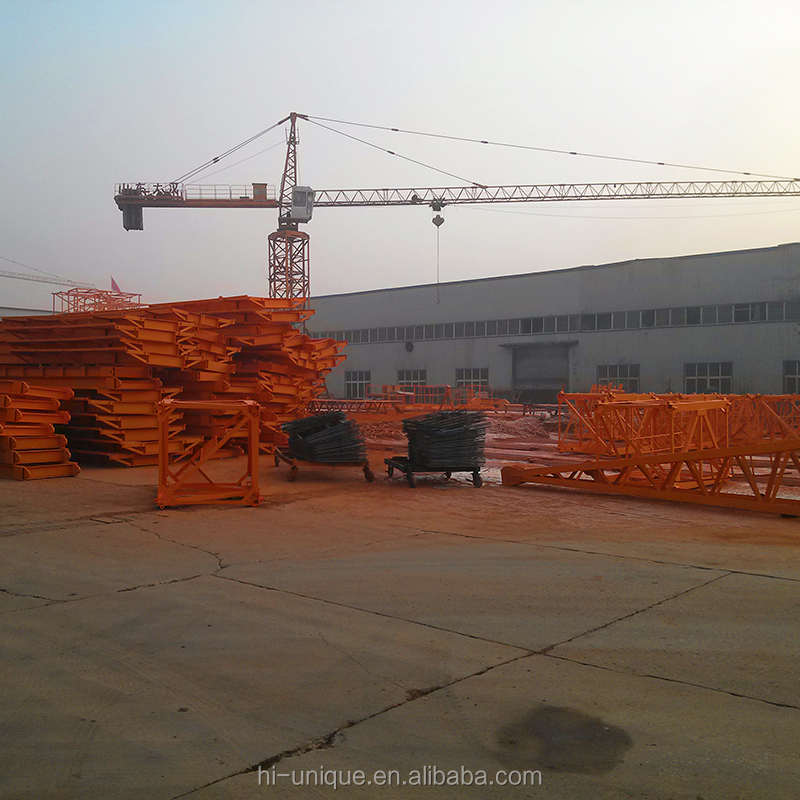 China Supplier QTZ Series 3-16T Construction Fixed/Mobile Tower Crane