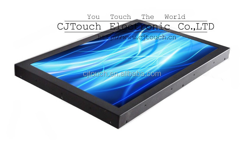 15.6 touch screen monitor with resistive / capacitive / saw / infrared usb touch option