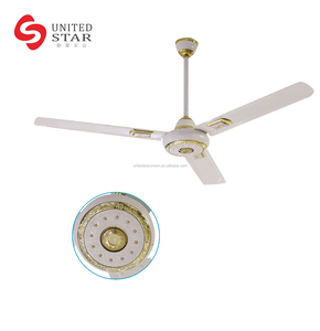 "Power Saving Dc Pakistan 56"" Solar Ceiling Fan"