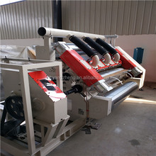 Single Facer Corrugated Cardboard Box Carton Making Machine price