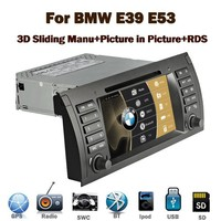 Wholesale top Quality special car dvd player for BMW X5 E53 E39 gps car dvd
