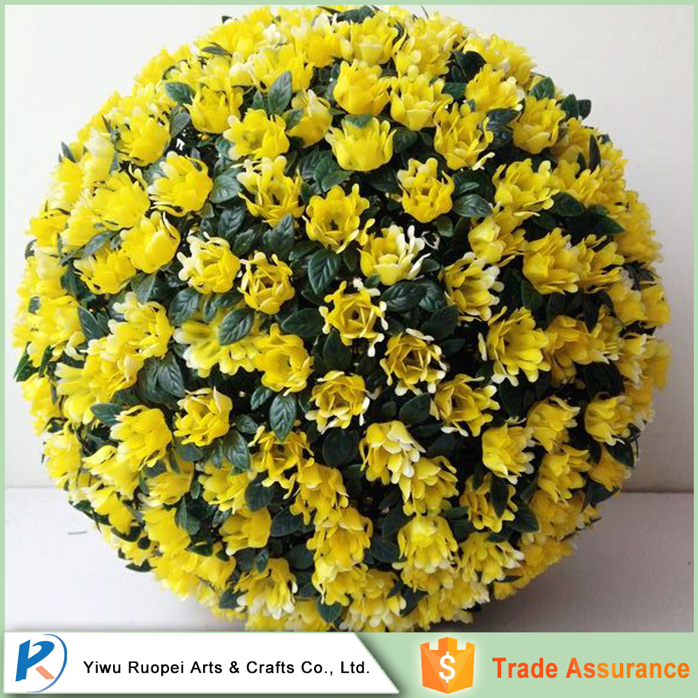 Wholesale Low Price High Quality wedding decoration artificial flowers ball
