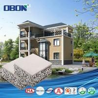 OBON light steel stucture three storeys stylish prefabricated house
