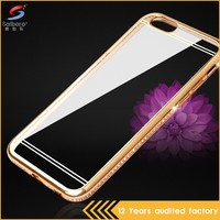 Guangzhou Wholesale New Design Anti-Scratch White Diamonds Phone Back Cover Case For Iphone 5