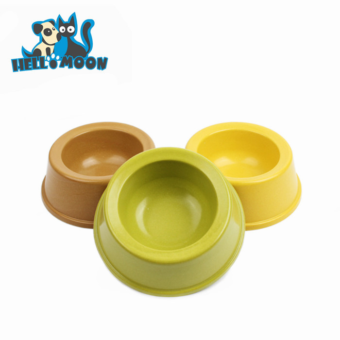 2015 New Arrival Natural Plant Resin Disposable Pet Bowl