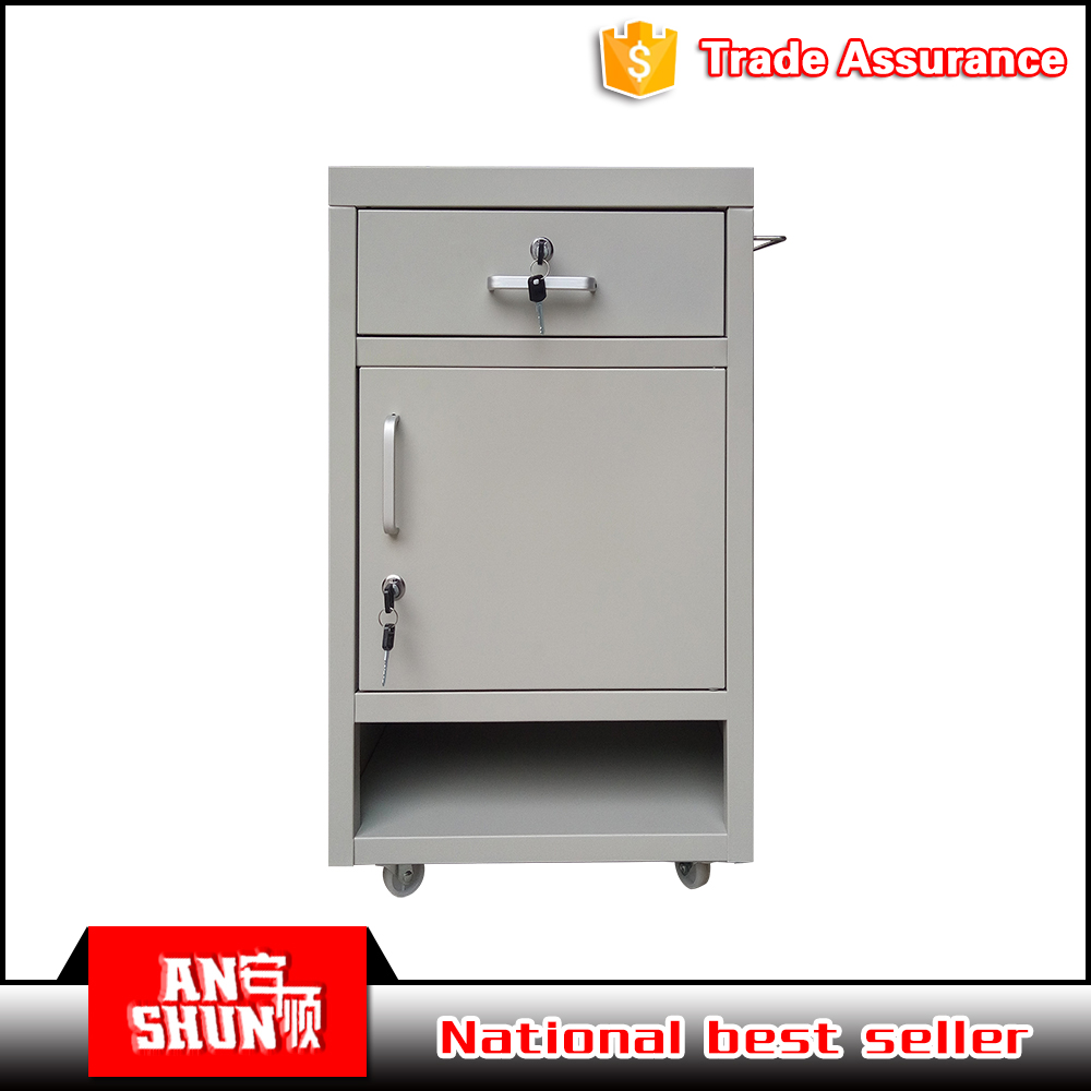 EAS-109 Multi Functions Cheap Bedside Mobile Cabinet used for Hospital