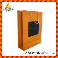Paper Bag shopping bag with handle made of coated paper kraft paper cardboard widely used in packaging