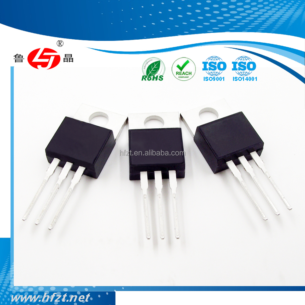 Electronic components ROHS REACH ISO9001 TIP110 NPN 2W 2A DIP through hole TO-220 general purpose transistors